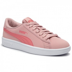 Puma Sneakers Smash V2 Buck Jr 365182 12 Bridal Rose/Calypso Coral