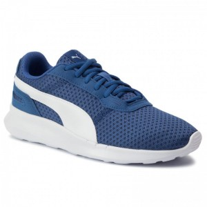 Puma Sneakers St Activate Jr 369069 08 Galaxy Blue/Puma White