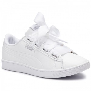Puma Sneakers Vikky V2 Ribbon Core 369114 02 White/Puma Silver