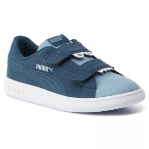 Puma Sneakers Smash V2 Monster V Inf 369681 03 Gibraltar Sea/Faded Denim