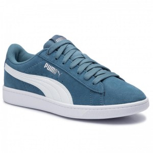 Black Friday 2020 - Puma Sneakers Vikky v2 369725 10 Bluestone/Puma White/Silver