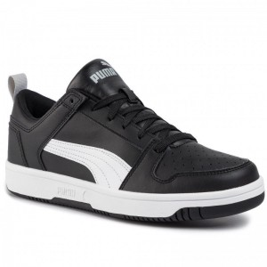 Black Friday 2020 - Puma Sneakers Rebound Layup Lo Sl 369866 02 Black/White/High Rise