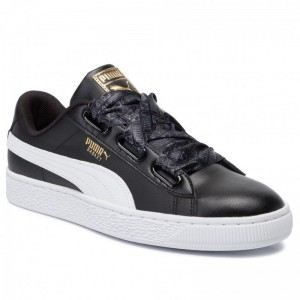 Black Friday 2020 - Puma Sneakers Basket Heart Reinvent Wn's 369935 02 Black/Puma Black