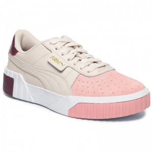 Black Friday 2020 - Puma Sneakers Cali Remix Wn's 369968 01 Pastel Parchment/Bridal Rose