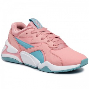 Puma Sneakers Nova Core Sl Jr 370129 01 Bridal Rose/Milky Blue
