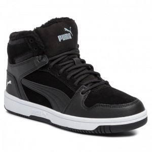 Black Friday 2020 - Puma Sneakers Rebound Layup Fur SD Jr 370497 01 Black/Puma White