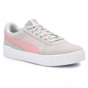 Puma Sneakers Carina Jr 370532 03 Gray Violet/Bridal Rose