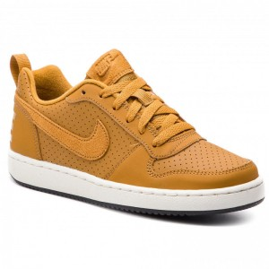 Black Friday 2020 - Nike Schuhe Court Borough Low (GS) 839985 701 Wheat/Wheat/Summit White/Black