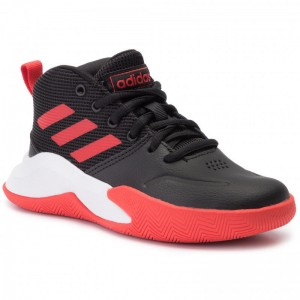 Adidas Schuhe Ownthegame K Wide EF0309 Cblack/Actred/Ftwwht
