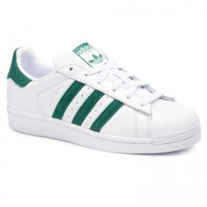 Black Friday 2020 - Adidas Schuhe Superstar EE4473 Ftwwht/Cgreen/Ftwwht