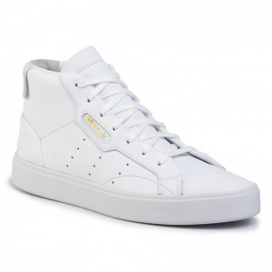 Black Friday 2020 - Adidas Schuhe Sleek Mid W EE4726 Fwwht/Ftwwht/Crywht