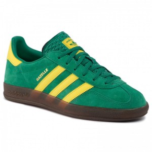 Black Friday 2020 - Adidas Schuhe Gazelle Indoor EE5736 Bgreen/Byello/Gums