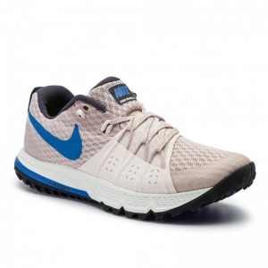 Nike Schuhe Air Zoom Wildhorse 4 880566 200 Particle Beige/Signal Blue