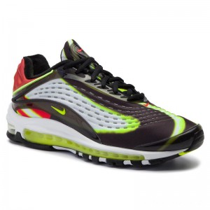 Black Friday 2020 - Nike Schuhe Air Max Deluxe AJ7831 003 Black/Volt/Habanero/Red/White