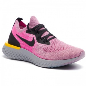 Black Friday 2020 - Nike Schuhe Epic React Flyknit AQ0070 500 Plum Dust/Black/Pink Blast