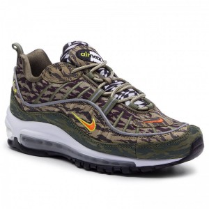Black Friday 2020 - Nike Schuhe Air Max 98 Aop AQ4130 200 Khaki/Team Orange/Medium Olive
