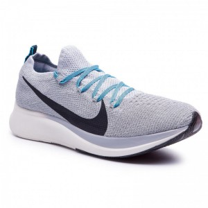 Black Friday 2020 - Nike Schuhe Zoom Fly Fk AR4561 004 Wolf Grey/Black/Blue Fury