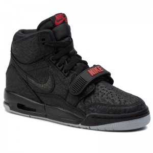 Nike Schuhe Air Jordan Legacy 312 (Gs) AT4040 006 Black/Black/Varsity Red
