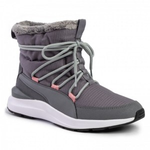 Black Friday 2020 - Puma Sneakers Adela Winter Boot 369862 03 Steel Gray/Puma White