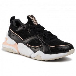 Black Friday 2020 - Puma Sneakers Nova 2 Suede Wn's 37095901 01 Black/Peach Parfait