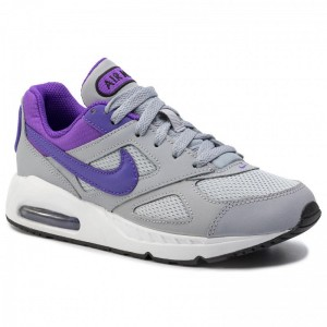 Nike Schuhe Air Max Ivo (Gs) 579998 051 Wolf Grey/Hyper Grape/White