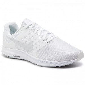 Nike Schuhe Downshifter 7 852459 100 White/Pure Platinum