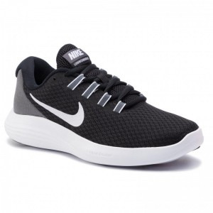 Nike Schuhe Lunarconverge 852469 001 Black/White/Dark Grey