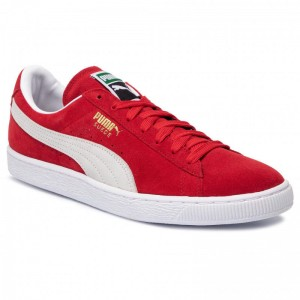Black Friday 2020 - Puma Sneakers Suede Classic+ 352634 65 High Risk Red/White