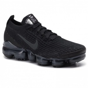 Black Friday 2020 - Nike Schuhe Air Vapormax Flyknit 3 AJ6910 002 Black/Anthracite/White