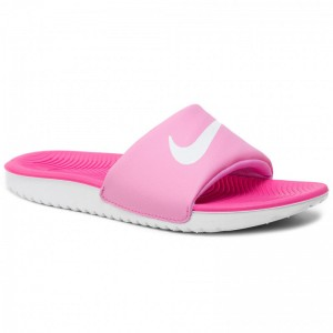 Black Friday 2020 - Nike Pantoletten Kawa Slide (Gs/Ps) 819352 602 Psychic Pink/White