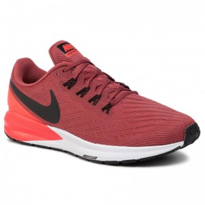 Black Friday 2020 - Nike Schuhe Air Zoom Structure 22 AA1636 600 Cedar/Black/Bright Crimson
