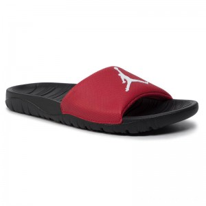 Black Friday 2020 - Nike Pantoletten Jordan Break Slide AR6374 600 Gym Red/White/Black