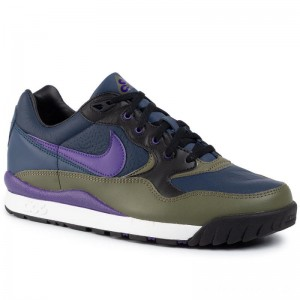 Nike Schuhe Air Wildwood Acg AO3116 400 Midnight Navy/Court Purple