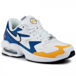 Nike Schuhe Air Max2 Light Prm BV0987 102 White/White/University Gold