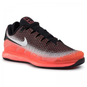 Nike Schuhe Air Zoom Vapor X Knit AR0496 002 Black/White/Dark Grey/Hot Lava