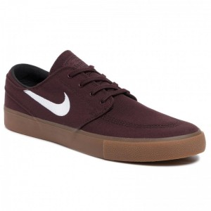 Nike Schuhe Sb Zoom Janoski Cnvs Rm AR7718 202 Mahogany/White/Gum/Light Brown