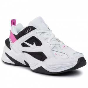 Nike Schuhe M2K Tekno AO3108 105 White/White/China Rose/Black