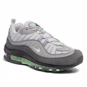Black Friday 2020 - Nike Schuhe Air Max 98 640744 011 Vast Grey/Fresh Mint