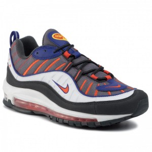 Black Friday 2020 - Nike Schuhe Air Max 98 640744 012 Gunsmoke/Team Orange