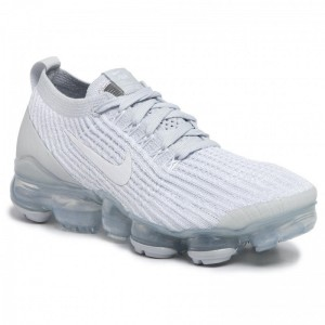 Black Friday 2020 - Nike Schuhe Air Vapormax Flyknit 3 AJ6910 100 White/White/Pure Platinum