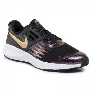 Black Friday 2020 - Nike Schuhe Star Runner Sh (Gs) AV4488 001 Black/Metallic Gold/White