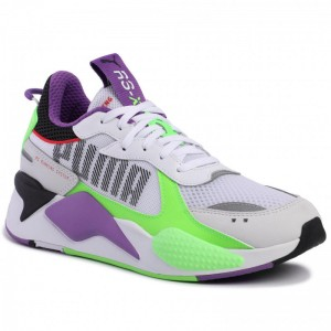 Puma Sneakers RS-X Bold 372715 02 White Gr/Gecko Royal Lilac