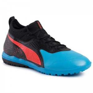 Black Friday 2020 - Puma Schuhe One 19.3 Tt 105489 01 Bleu Azur/Red Blast/Black