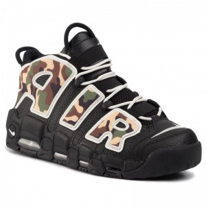 Nike Schuhe Air More Uptempo '96 Qs Su19 CJ6122 001 Black/Sail/Lt British Tan