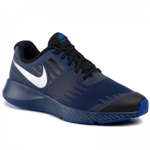 Nike Schuhe Star Runner Rlf (Gs) AV4471 400 Blue Void/Reflect Silver/Black