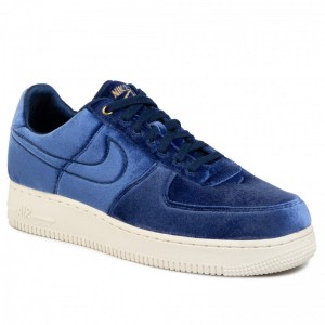 Nike Schuhe Air Force 1'07 Prm 3 AT4144 400 Blue Void/Blue Void/Sail