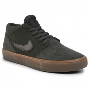 Black Friday 2020 - Nike Schuhe Sb Portmore II Solar Mid 923198 300 Sequoia/Black/Gum Med Brown
