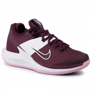 Black Friday 2020 - Nike Schuhe Nikecourt Air Zoom Zero Hc AA8022 603 Bordeaux/Bordeaux/Pink Rise