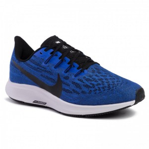 Nike Schuhe Air Zoom Pegasus 36 AQ2203 400 Racer Blue/Black/White