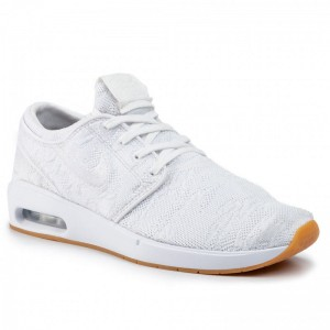 Black Friday 2020 - Nike Schuhe Sb Air Max Janoski 2 AQ7477 100 White/White/Gum Yellow